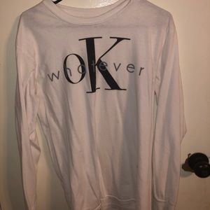 "Tops - ""Ok Whatever"" long sleeve"
